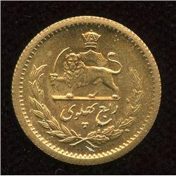 Persia 1/4 PAHLAVI - Muhammad Reza Pahlavi