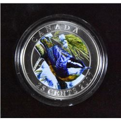 2007 Red-breasted Nuthatch 25 Cents Coin