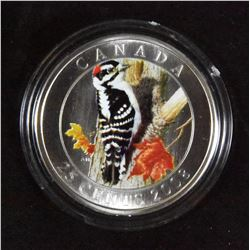 2008 Downy Woodpecker 25 Cents Coin
