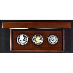 2012 The Queen's Diamond Jubilee - Royal Silver 3-Coin Set