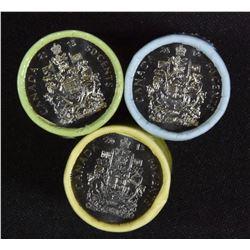 2013, 2014 & 2015 Canada 50-cent Original Rolls.