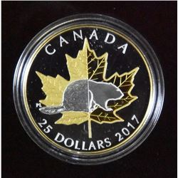 2017 Canada $25 Piedfort - Timpless Icons Beaver