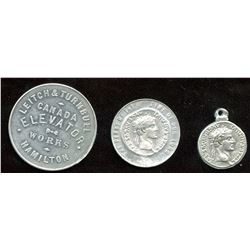 Lot of Three Banfield Medals.