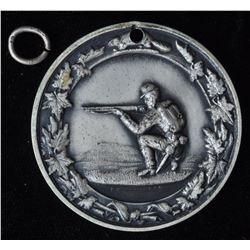 Ontario Medal - Ler 1601  Ontario Rifle Association with edge inscription M.J.M Watson 1938. Silver,