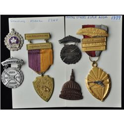 Various USA Shooting Medals