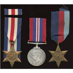 WWII Medals - Lot of 3 Canadian Medals