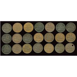Token Lot of 21