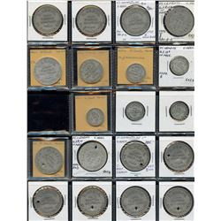 Bulk Lot of Misc. Ontario Merchant Tokens.