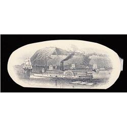 Stadacona Bank $5, 1874 Vignette