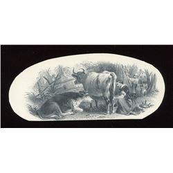Banque d'Hochelaga $4, 1874, 1877. Provinceial Bank $10, 1884 Vignette