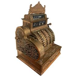 Bronze/Brass National Cash Register