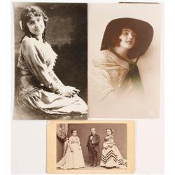 PT Barnum, Tom Thumb CDV plus Photos of Early Actresses