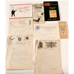 Scientific Instrument Advertising & Ephemera