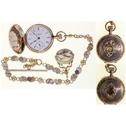 Choice Watch with California Gold in Quartz Chain