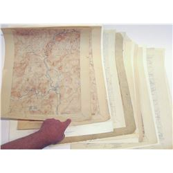 Early Western Topographic Maps