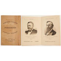 Rare Presidential Portrait Booklet