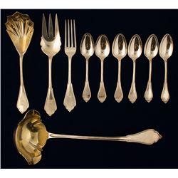 Kohler & Ritter Silver Flatware, c1867