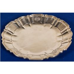 Sterling Silver Scalloped Tray