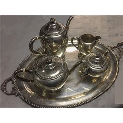 Five Piece Tea and Coffee Set c1920
