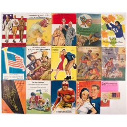 Football Ephemera Assortment