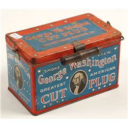 George Washington cut plug tobacco can R.J. Reynolds