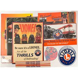 Lionel Train Ephemera