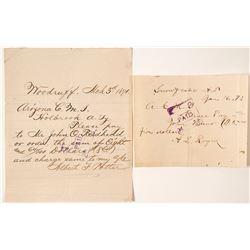 Manuscript Pieces from Arizona (Rare)