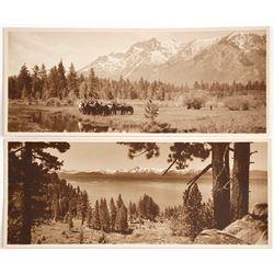 Very Rare Lake Tahoe Panorama Photos