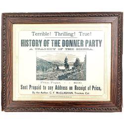 Donner Party Broadside, c.1880