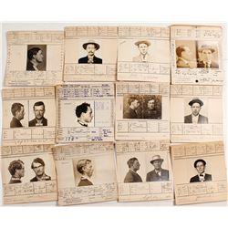 Bay Area Criminal Mugshots, c.1910s