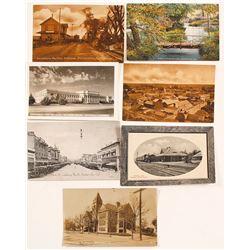 Porterville and Stockton Postcards (7)