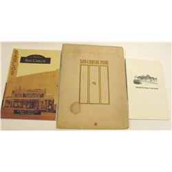 San Carlos, California History Books (3)