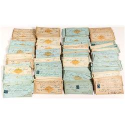 Unsorted Ann Arbor, Michigan Revenue Check Collection