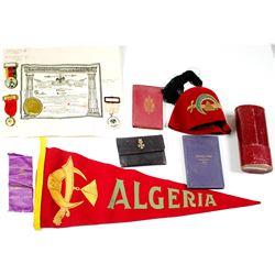Algeria Shriner Memorabilia, Helena, Montana