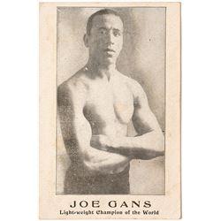 Joe Gans, Lightweight Champion of the World, Souvenir