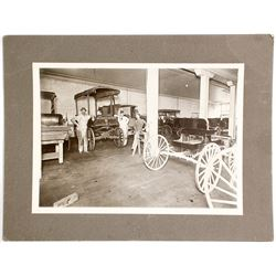 Mounted Photograph of Virginia City Carriage House