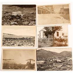Virginia City Postcards, Many Real Photo
