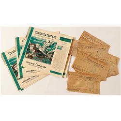 Virginia & Truckee Railroad Archive