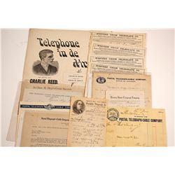 Telephone & Telegraph Ephemera