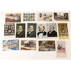 Brigham Young, Famous Mormon Leader, Postcard Group