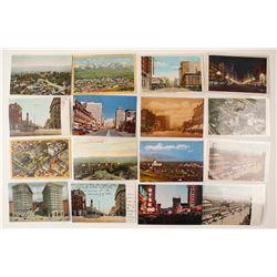 Salt Lake City Postcard Collection incl. Panorama
