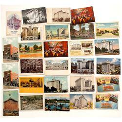 Salt Lake City, Utah Hotel Postcards