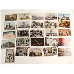 Utah Postcards of the State Capitol