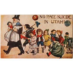 Rare Mormon Pro-Eugenics Postcard