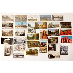 Utah Scenery Postcards