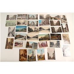 Seattle Street Scenes Postcards