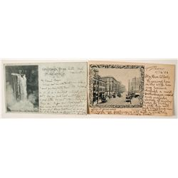 Two Very Early Seattle Postcards incl. 1899