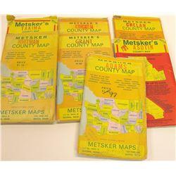 Washington Folded Maps by Metsker