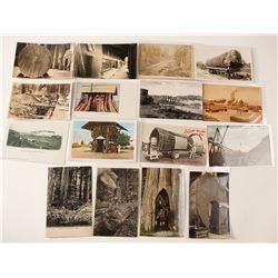 Washington State Lumber Postcards