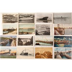Washington State Postcards featuring Steamers & Ships